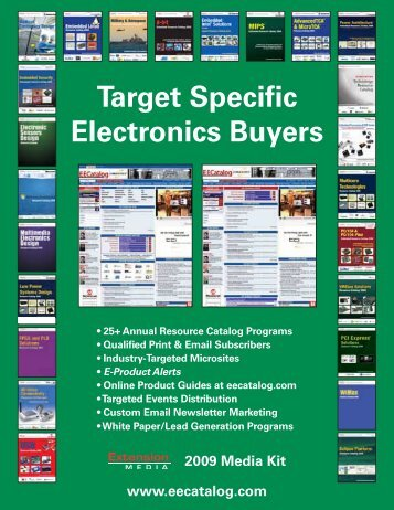 Target Specific Electronics Buyers - Extension Media