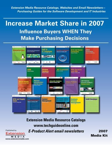 Increase Market Share in 2007 - Extension Media