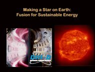 DIII–D - General Atomics Fusion Education