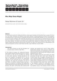 Mrs Mop Does Magic - Zeitschrift Schreiben