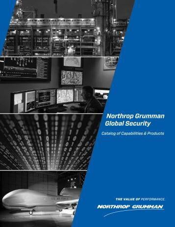 Catalog of Capabilities & Products - Northrop Grumman Corporation