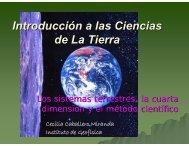 Sistema Tierra, tiempo y método científico
