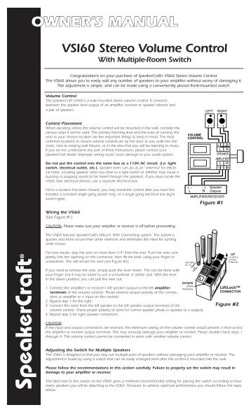 VSI60 Manual.indd - Sound Group Holdings