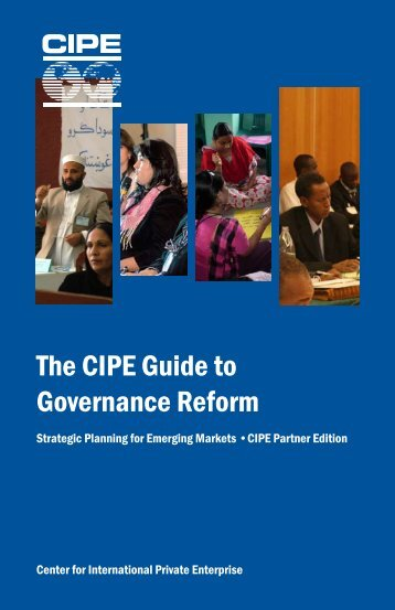 The CIPE Guide to Governance Reform - Center for International ...