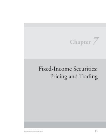 Fixed income securities trading system