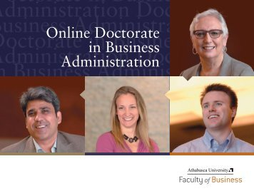 Doctorate in Business Administration Doctor in Business ...