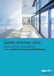 Guide animeo 2010 - Somfy