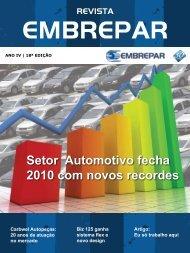 Setor Automotivo fecha 2010 com novos recordes - embrepar