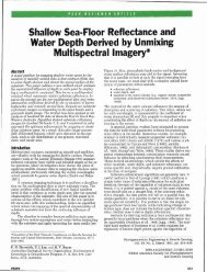 Shallow sea-floor reflectance and water depth derived ... - Grapevine
