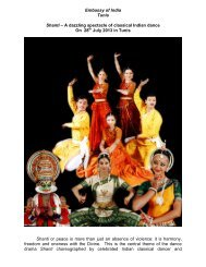 Shanti – A dazzling spectacle of classical Indian dance
