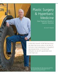 Plastic Surgery & Hyperbaric Medicine - Baystate Health