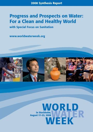 Progress and Prospects on Water - World Water Week