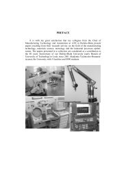 PREFACE - Advances in Manufacturing Science and Technology