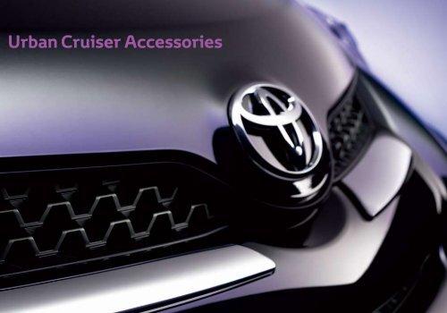 Genuine Toyota Urban Cruiser Front Toyota Badge