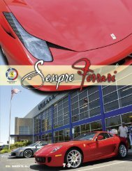 Volume 18 Issue 3 - July-September 2011 - Ferrari Club of America ...