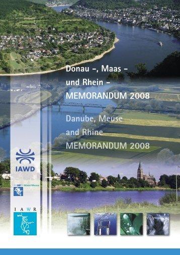 het Donau-, Maas- en Rijnmemorandum - RIWA-Maas