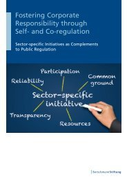 Fostering Corporate Responsibility through Self- and Co-regulation