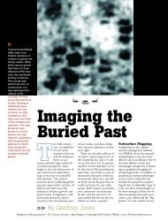 Imaging the Buried Past - Archaeo-Physics