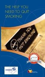 THE HELP YOU NEED TO QUIT SMOKING - Employee Wellness