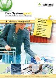Das System gesis® - Wieland Electric