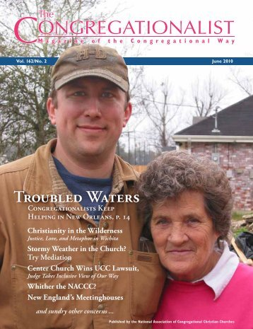 Troubled Waters - The Congregationalist