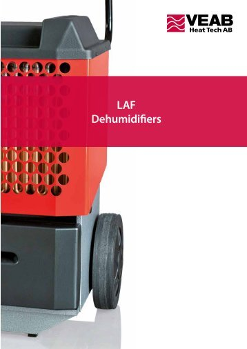 LAF Dehumidifiers - Systemair