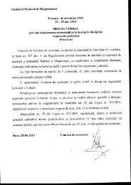 OJ proc. (28.05.13).pdf - Institutul Naţional al Magistraturii
