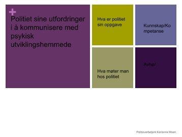 Ei god ramme å fortelle i - Helse Midt-Norge