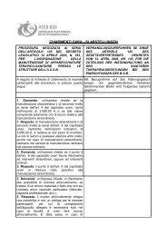 Fragen zum Verfahren - Betrieb für Sozialdienste Bozen