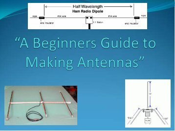 A Beginner's Guide to Making Antennas
