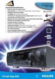 Surround Sound Receiver - Philips