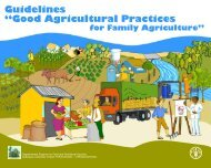 "Guidelines ""Good Agricultural Practices - FAO.org"