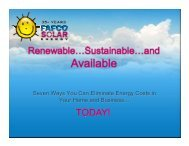 Seven Ways You Can Eliminate Energy Costs in Your Home and ...