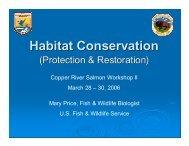 Habitat Conservation (Protection & Restoration) - Ecotrust