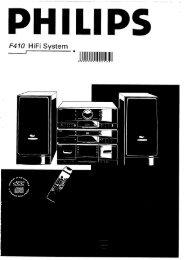 F410 HiFi System - Philips