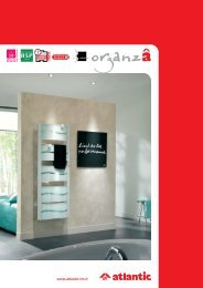 Util ORGANZA et POEME - Atlantic-comfort.com