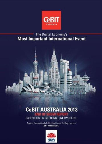 CeBIT AUSTRALIA 2013