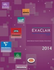 Exaclair 2013 Catalog | Quality Stationery Products ... - Exaclair, Inc.