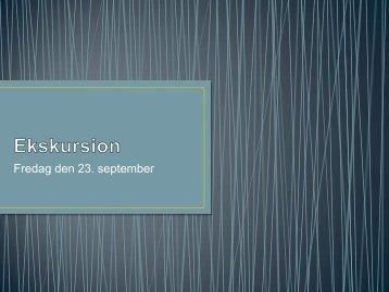 Fredag den 23. september - Dansk Betonforening
