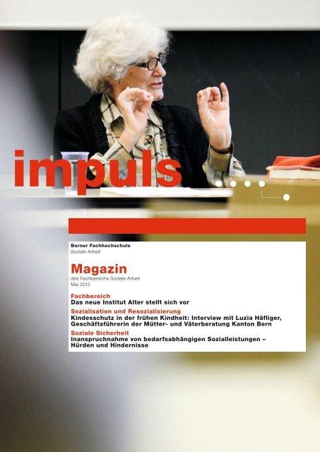 impuls Mai 2012 - Soziale Arbeit - Berner Fachhochschule