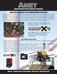 advanced technology for manufacturing excellence - Automated ...