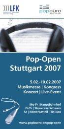 Pop-Open Stuttgart 2007 - Soundnezz