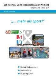 """""""... mehr als Sport!"""" - Verlag Volker Herrmann Soziales Marketing"""