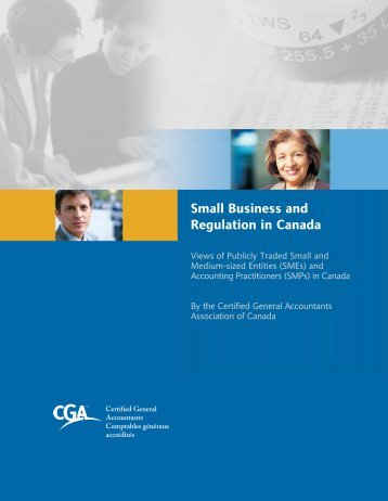 Survey Findings - Certified General Accountants Association of ...