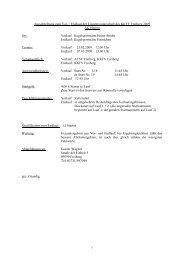 Ausschreibung zum Vor- / Endlauf KEM Herren 2007