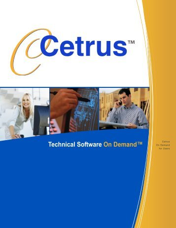 Cetrus On Demand Licensing - Engineering Software