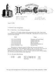 Brock_Albert J Drain_City of Noblesville Relocation.pdf - Hamilton ...