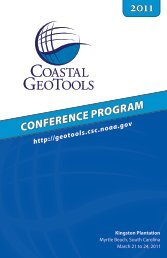 Geotools Program 2011 - NOAA