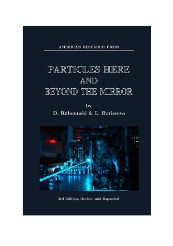 1.1 Mb PDF - Zelmanov Journal - Progress in Physics