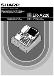 ER-A220 Operation-Manual GB - Sharp